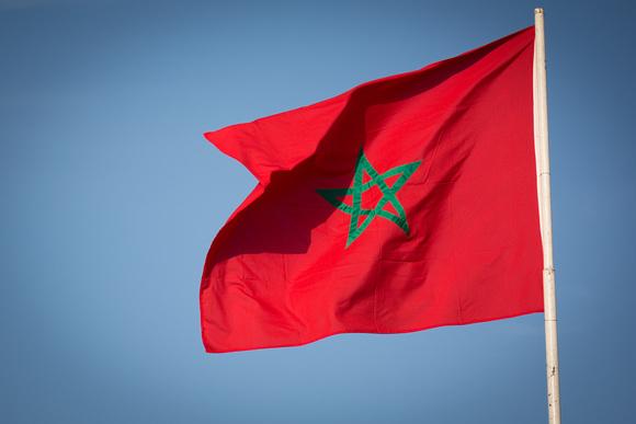 Marrakech un ressortissant fran ais poursuivi pour - Drapeau du maroc a imprimer ...
